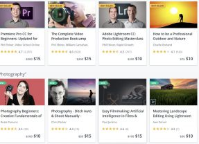 Udemy Discounted Courses are now for $10 and $15 for 3 days