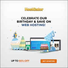 Hostgator 15th Anniversary 60% discount Promo code 2017